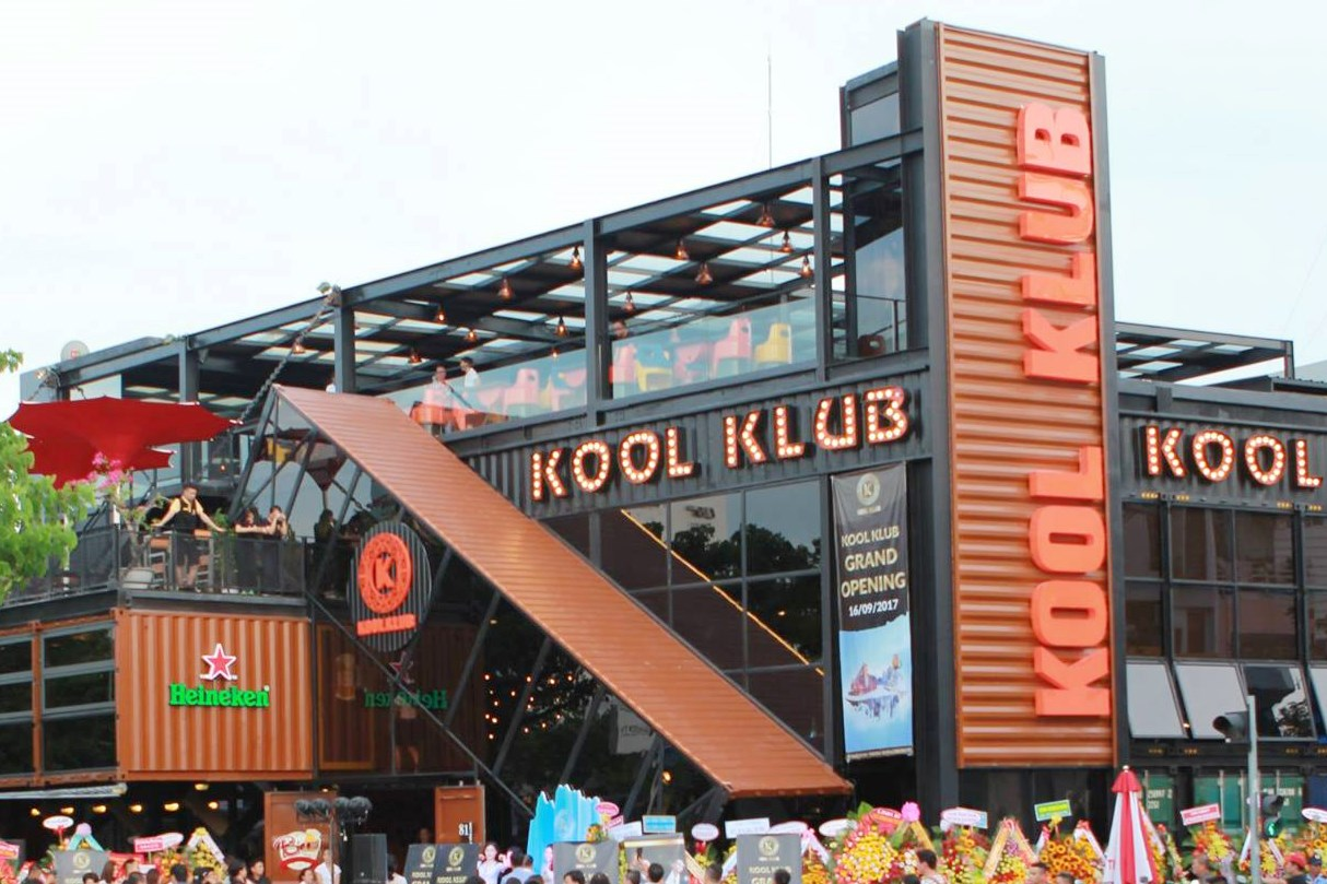 The project of setting up and operating KOOL KLUB